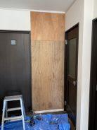 壁穴開き修繕